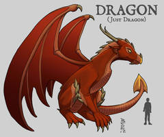Dragon - Just Dragon by NuBearEull