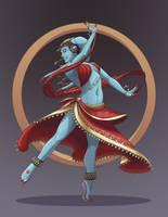 Twi'lek Dancer - Commission by NuBearEull