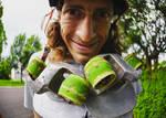 Downhill Freeline Skater Jarrod Monacelli by StuffyMcbPb