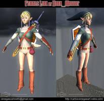 Female Link by DM by dark-maggot