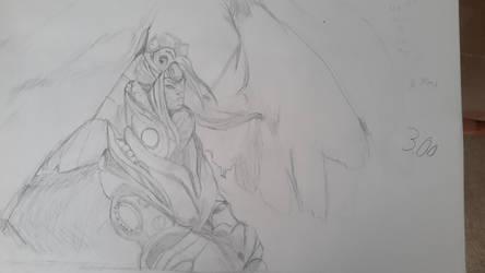 Azorious Sphinx by SetsunaDamius
