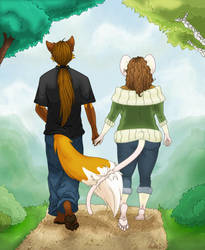 Small Steps Beside You by firepixie