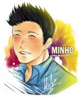 [The Maze Runner] Minho by MawemoSM