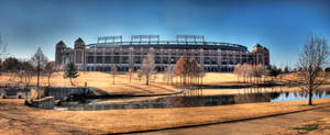 Ballpark at Arlington by ProvoAggie