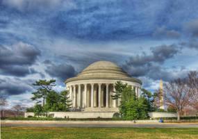 Jefferson Memorial by ProvoAggie