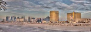 Gloomy Las Vegas Panorama by ProvoAggie
