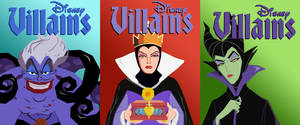 Disney Vector Villains: The Ladies by tjjwelch