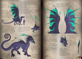 Beachcomber dragon ref by Swirlything