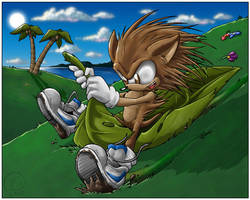 That Sonic Kid- fleetway by Swirlything