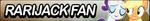 Rarijack fan button by MajkaShinoda626