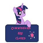 CAC -Art status -Twilight Sparkle by MajkaShinoda626