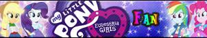 Equestria Girls -Fan button by MajkaShinoda626