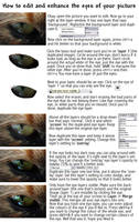 How to edit eyes by PinkFireFly