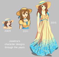 Joselina's character design by PinkFireFly