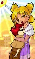 Gaara and Temari by PinkFireFly