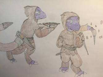 5e/Pathfinder Character: Aandroek vander Vliet by RelativeEquinox