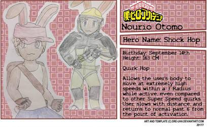 My Hero Academia OC: Nourio Otomo by RelativeEquinox