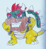 Bowser by LordofRabbids1
