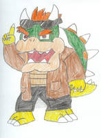 Sonic Riders: Bowser by LordofRabbids1