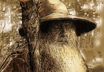 GANDALF 2B THE HOBBIT/LORD OF THE RINGS by Legrande62