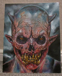 DEMON FACE A1 by Legrande62