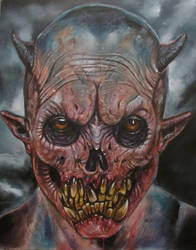 DEMON FACE A2 by Legrande62