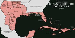 Grand Empire of Texas 1901 by LaTexiana