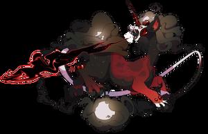 G1- 090 Bloodmoon Eclipse by capriamasterlist