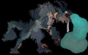 G1- 098 Halloween Werewolf by capriamasterlist