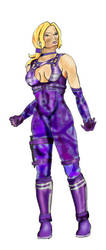 T4 Nina purple outfit by argeiphontes