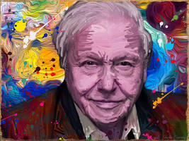 Attenborough by JackieCrossley