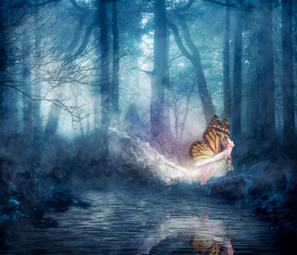 The NIght Fairy by JackieCrossley