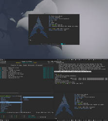 Arch Linux + i3 by kalterfive