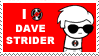 Dave Strider Stamp by lila79