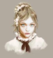 Sasha Pivovarova by Y-Deng