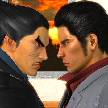 Kazuya vs Kiryu by Hatredboy