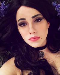 Yennefer Makeup Test - The Witcher 3 Wild Hunt by SailorHasChopstickss