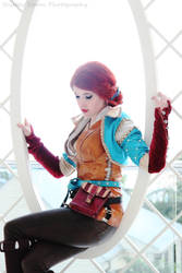 The Witcher 3 - Triss Merigold Cosplay by SailorHasChopstickss