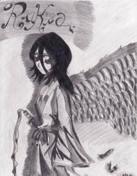 Monochrome Angel by Mimidorika