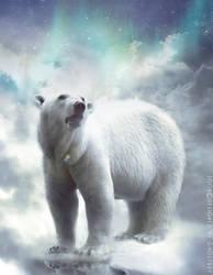 polar bear by ghostray99