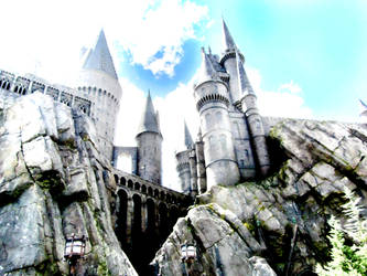 Hogwarts Overexposed by AsBsCs
