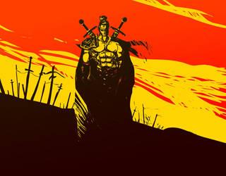 Dawn of rage by Chupanza