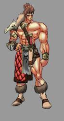 Drax the barbarian by Chupanza