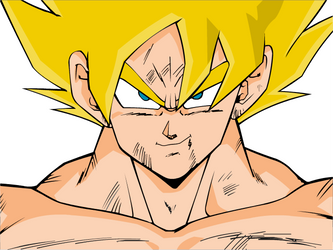 Goku by artgas