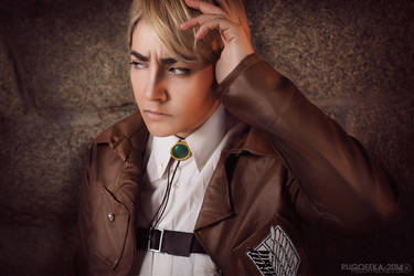 Attack on Titan: Erwin Smith by Galefic