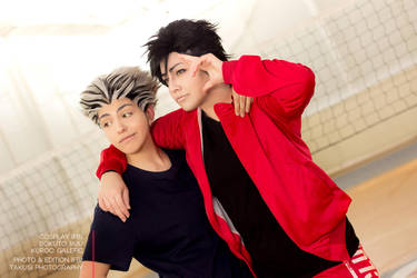 Haikyuu - Bokuro and Kuroo by Galefic