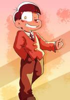 Osomatsu-san S2 Countdown: Osomatsu by AKHTS