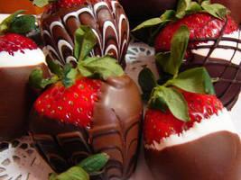 Strawberries and Chocolate by AmandaSupak