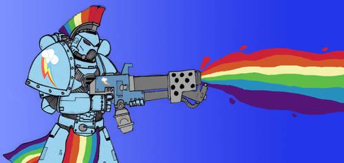 Rainbow Dash Marine by GhettoMole