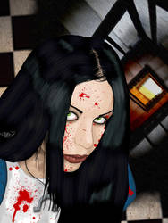Alice in Wonderland by GhettoMole